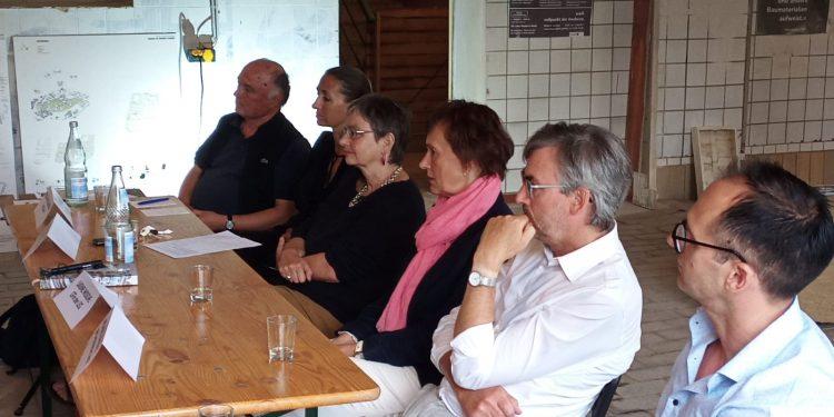 Podiumsdiskussion zur Entwicklung des Quartiers am Mühlgraben