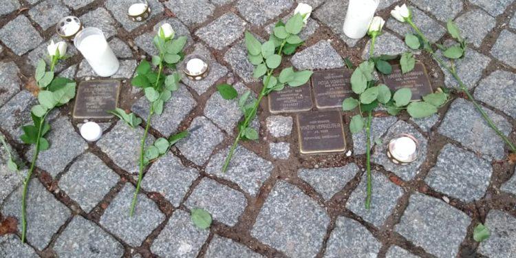 Gedenken nach dem Anschlag von Halle